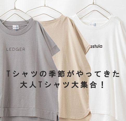 Tシャツの季節がやってきた!