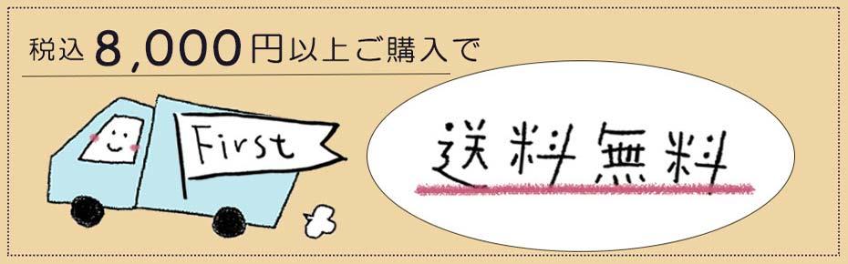 8,000円以上送料無料